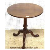 """SOLID Mahogany """"W.A. Kittinger Furniture"""" Queen Anne Table  Auction Estimate $200-$400 – Located In"""