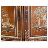 Asian Decorate 3 Door Credenza  Auction Estimate $100-$300 – Located Inside