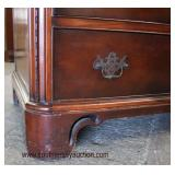Mahogany Rope Carved 3 over 3 Drawer Chest  Auction Estimate $100-$300 – Located Inside