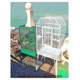 Selection of Metal Birdcages  Auction Estimate $20-$100 – Located Field