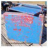 VINTAGE Coca-Cola Cooler  Auction Estimate $50-$100 – Located Field