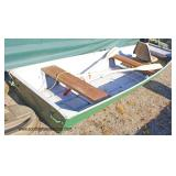 John Boat with Paddles  Auction Estimate $200-$400 – Located Field