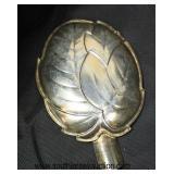 Set of 6 German Silver Leaf Ashtrays  Auction Estimate $50-$100 – Located Glassware