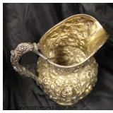 """BEAUTIFUL """"Stieff"""" Sterling Pitcher approximately 10"""" Height and weighs approximately 27.76 ozt  Au"""