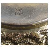 """""""Stieff"""" Sterling 10"""" Plate approximately 12.62 ozt  Auction Estimate $100-$200 – Located Glassware"""