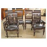 """Contemporary """"Bernhardt Furniture"""" 7 Piece Mahogany Dining Room Table and 6 Chairs  Auction Estimat"""
