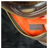 """Authentic """"Louis Vuitton"""" Limited Edition Brown Canvas Damier Ebene VI 0061 Purse  Auction Estimate"""