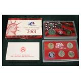 50 State Quarters United States Mint Silver Proof Set 2001  Auction Estimate $10-$30 – Located Glas