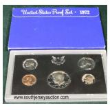 United States Proof Set 1972  Auction Estimate $5-$10 – Located Glassware