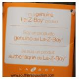 "NEW ""La Z Boy"" Leather Recliner  Auction Estimate $300-$600 – Located Inside"