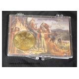 The Sacagawea Dollar in Case  Auction Estimate $5-$10 – Located Glassware