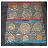 (2) U.S. Uncirculated 1776-1976 Bicentennial Mint Sets  Auction Estimate $10-$20 – Located Glasswar