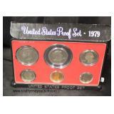United States 1979 Proof Set  Auction Estimate $5-$10 – Located Glassware