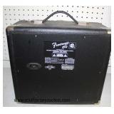 """Fender Musical Instruments Corporation"" Frontman 15G Amp  Auction Estimate $100-$200 – Located Gla"