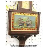 """""""Chelsea"""" Banjo Clock with Brass Eagle Finial  Auction Estimate $100-$300 – Located Inside"""