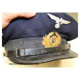 Lot 26: WWI Veterans German Kyffhauser Mutke bund visor cap size 57