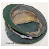 Lot 28: SS officers visor cap