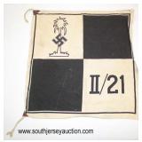 Lot 87: Afrika Korp Unit Flag