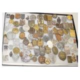 Lot 106: 99pc WWII German Day Badges or Tinni Badges (lot of 99)