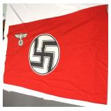 """Lot 115: German State Service Flag approximately 33""""x59"""""""