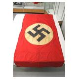 """Lot 126: German Window Flag/Building Banner approximately 42""""x92"""""""