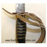 Lot 148: Replica Calvary Style Dress Sword