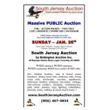 Massive PUBLIC Auction designer decorator new with tags and more  www.SouthJerseyAuction.com