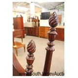 """SOLID Mahogany """"Kincaid Furniture"""" Queen Bed  Auction Estimate $100-$300 – Located Inside"""