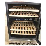 "NEW ""Kalamera"" Compressor Wine Cooler Model #KRC-46DZB  Auction Estimate $200-$400 – Located Inside"