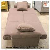 NEW Contemporary Futon Sofa  Auction Estimate $100-$300 – Located Inside