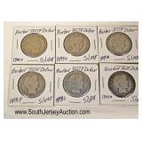 Selection of Silver Half Dollars  Auction Estimate $5-$10 ea. – Located Glassware