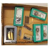 Box Lot of Lighters, Pocket Knives, and Key Chains  Auction Estimate $20-$50 – Located Glassware