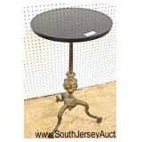 19th Century Bronze and Marble Regency Style Candle Stand  Auction Estimate $100-$300 – Located Ins