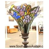 Stain Glass Contemporary Decorator Floor Lamp  Auction Estimate $50-$150 – Located Inside
