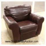 Brown Leather Club Chair  Auction Estimate $200-$400 – Located Inside