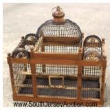 Decorator Wood Bird Cage  Auction Estimate $50-$100 – Located Inside