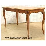 Mahogany Inlaid and Banded Country French One Drawer Parquet Mahogany Desk  Auction Estimate $100-$