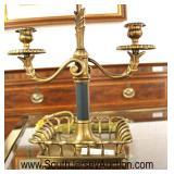 Louie XVI Style Bouillette Lamp  Auction Estimate $100-$300 – Located Inside