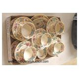 """Box Lot of """"Old Ivory Syracuse China Made in America"""" Porcelain Cups and Saucers  Auction Estimate"""
