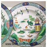 """Set of 4 """"Crown Staffordshire"""" Hand Painted Decorative Plates  Auction Estimate $50-$100 – Located"""
