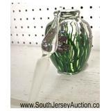 Hand Blown Art Glass Perfumer  Auction Estimate $50-$100 – Located Glassware