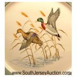 "Set of 10 Eliot Fine China"" Decorative Duck Dinner Plates  Auction Estimate $100-$200 – Located Gla"