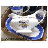 "Box Lot of ""Bernardaud Limoges"" Partial Dinnerware Set  Auction Estimate $40-$80 – Located Glasswar"