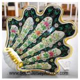 """Porcelain Hand Painted """"Herend Hungary"""""""" Shell Style Candy Dish  Auction Estimate $100-$200 – Locat"""