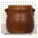 Selection of Decorator Items including Chicken and Pottery Bean Crock with Lid  Auction Estimate $1
