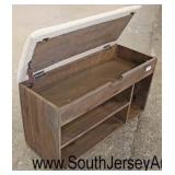 Lift Top Upholstered Storage Bench  Auction Estimate $100-$200 – Located Inside