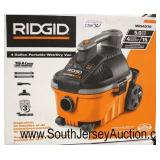 "Large Selection ""Ridgid and Stinger"" Portable Shop Vacs in Boxes and Different Sizes and HP  Auctio"