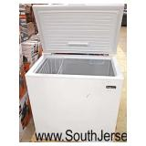 """Magic Chef"" Lift Top Chest Freezer  (own a little rough on the outside but beautiful on the inside"