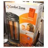 Selection Quartz Comfort Zone Radiant Heaters, Dyno-Glo Pro