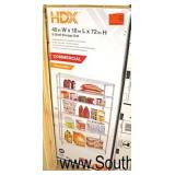 "A LOT of ""HDX"" 48""x72"" Commercial 6 Shelf Storage Shelf  Auction Estimate $50-$100 – Located Inside"